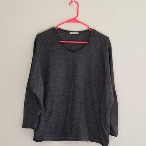 Zara W/8 Collection   Long Sleeve Top